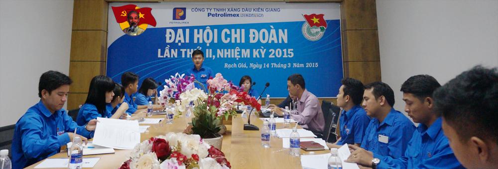 Toàn cảnh Đại hội Chi đoàn Thanh niên Petrolimex Kiên Giang…