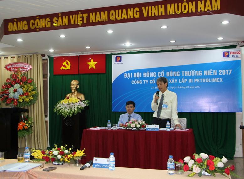 Ông Cung Quang Hà – Chủ tịch HĐQT điều hành đại hội