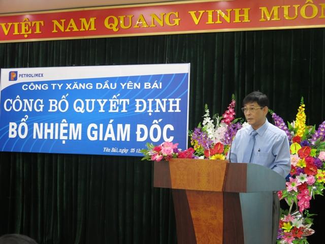Tân giám đốc Công ty Xăng dầu Yên Bái - Hoàng Xuân Hải