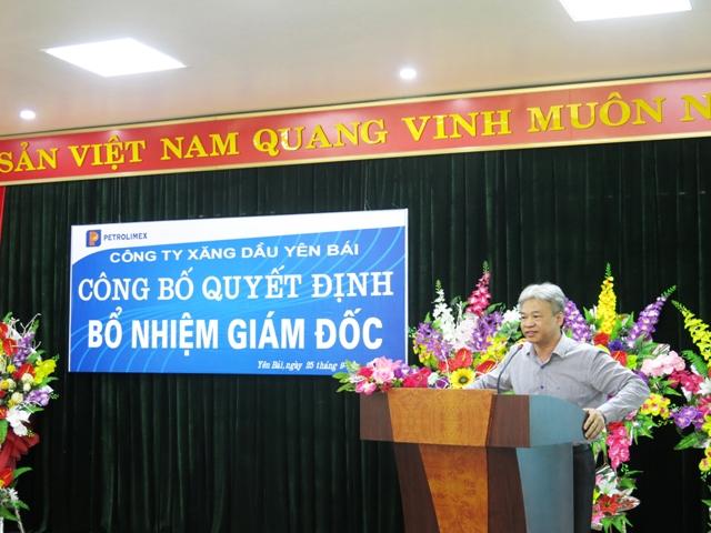 ông Lê Văn Hướng - Ủy viên HĐQT, Trưởng ban Nhân sự Lương thưởng Tập đoàn Xăn dầu