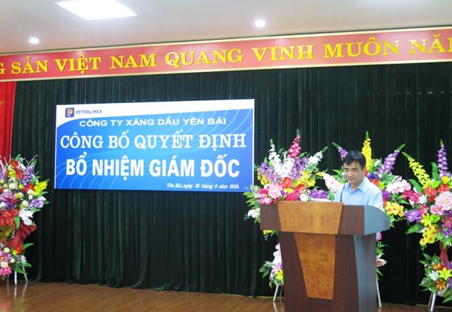 Ông Trần Văn Kha- trưởng ban Tổng hợp  Hội đồng quản trị Tập đoàn Xăng dầu Việt Nam