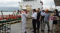 Kho K2 chính thức nhập điêzen từ tàu biển