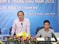 Sơ kết công tác 6 tháng đầu năm 2013 cụm Tây Nam Bộ