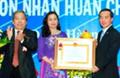 Petrolimex Quảng Trị đón nhận Huân chương Lao động hạng Nhất tại lễ kỷ niệm 25 năm thành lập