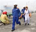 Diễn tập quy mô lớn ứng cứu SCTD và chữa cháy tại Cảng dầu B12