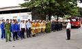 Diễn tập phương án chữa cháy tại Kho Xăng dầu Biên Hòa