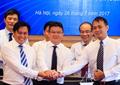Tin ảnh: Lễ ký kết giữa Petrolimex, Napas và PG Bank