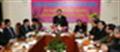 Bộ trưởng Bộ Công Thương Vũ Huy Hoàng thăm và chúc Tết Công ty Xăng dầu Hà Sơn Bình