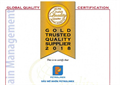 PLC honoured Gold Trusted Quality Supplier 2018
