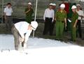 Tin ảnh: Chương trình thử nghiệm hệ thống chữa cháy cố định tại CHXD Petrolimex