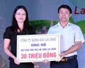 Petrolimex Lai Châu trao 30 triệu đồng hỗ trợ trẻ em khó khăn