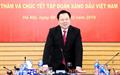 Chủ tịch CMSC Nguyễn Hoàng Anh thăm, chúc Tết Petrolimex