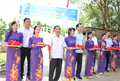 Rural bridge inauguration in Ta Keo Vam hamlet, Phi Thong commune, Rach Gia City
