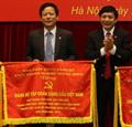 Đảng bộ Petrolimex được Đảng bộ Khối DNTW trao Cờ thi đua giai đoạn 2009-2014