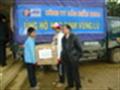 Công ty bảo hiểm Pjico cứu trợ học sinh vùng lũ miền Trung