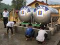 Chung tay đưa nước sạch về trường THCS Thanh Phú