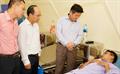 Lãnh đạo Petrolimex thăm hỏi, động viên 2 nhân viên Petrolimex Quảng Ninh