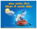 Pjico tặng quà khách hàng mua bảo hiểm vật chất xe ô tô