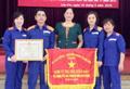Petrolimex Lào Cai nhận Cờ thi đua xuất sắc về công tác ATVSLĐ-PCCN