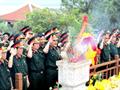 Hành trình dâng hương lên anh linh Đại tướng Võ Nguyên Giáp
