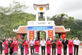 Khánh thành Cổng gác chuông Đài hương 468 nhớ ơn AHLS mặt trận Vị Xuyên
