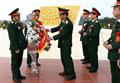 Lễ dâng hương các AHLS quân tình nguyện Việt Nam tại Xiêng Khoảng (CHDCND Lào)