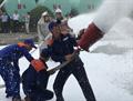 Petrolimex Hà Bắc diễn tập PCCC & CNCH tại Kho xăng dầu Bắc Giang