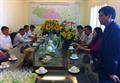 Phó bí thư Tỉnh ủy Khánh Hòa chúc tết đầu năm Cán bộ Công nhân viên Công ty xăng dầu Phú Khánh