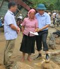Trao hơn 300 triệu đồng hỗ trợ đồng bào Yên Bái khắc phục hậu quả lũ lụt