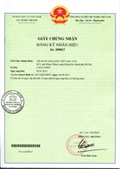 Certificate of registration of trademark No 209817