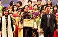 Chủ tịch kiêm Giám đốc Petrolimex Hà Giang Trần Thị Thu Hương được tôn vinh