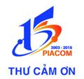 Piacom: Thư cảm ơn nhân 15 năm thành lập