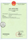 Certificate of registration of trademark No 208202