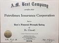 Pjico được AMBest xếp hạng năng lực tài chính B+ (Tốt)