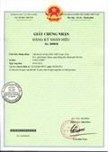 Certificate of registration of trademark No 209818
