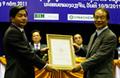 Tổng công ty Xăng dầu Việt Nam nhận giấy phép đầu tư tại Lào