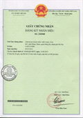 Certificate of registration of trademark No 210360