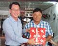Tri ân khách hàng Dầu nhờn Petrolimex tại cửa biển Hương Mai