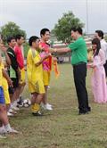 Giao lưu bóng đá với Mai Linh (Nghệ An)