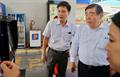 Phó chủ tịch cấp cao  JXTG Hanaya Kiyoshi làm việc tại CHXD số 01 Petrolimex Sài Gòn