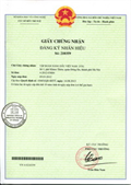 Certificate of registration of trademark No 210359