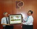 Ủy ban Khoa học Công nghệ của Quốc hội thăm và làm việc tại Công ty xăng dầu Khu vực II