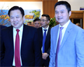 Tin ảnh: Chủ tịch CMSC Nguyễn Hoàng Anh thăm, chúc Tết Petrolimex
