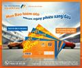 Pjico tặng phiếu xăng dầu khi mua bảo hiểm ô tô
