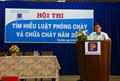 Hội thi tìm hiểu về Luật PCCC