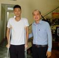 Hơn 100 triệu đồng đã đến với anh Nguyễn Hồng Sơn