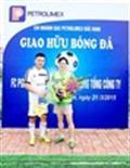 Giao hữu bóng đá Gas Petrolimex tại Bắc Ninh