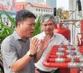 P.TGĐ Petrolimex Vương Thái Dũng kiểm tra công tác an toàn tại Petrolimex Sài Gòn