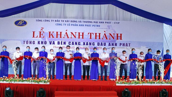 Thanh Hóa: Khánh thành tổng kho và bến cảng xăng dầu Anh Phát