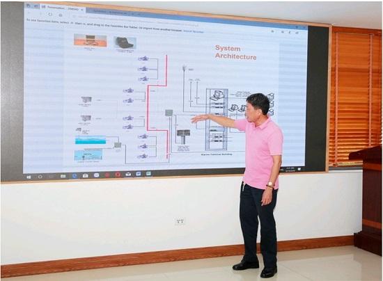 Đào tạo vận hành Hệ thống hỗ trợ tàu cập cầu bằng công nghệ định vị laser